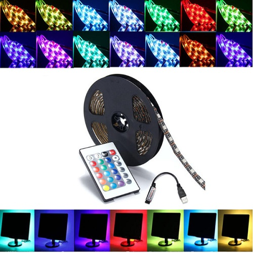 5V RGB LED Strip with Remote Control