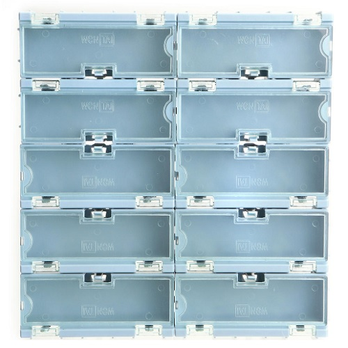 Small Electronic Component Parts Storage Box SMT SMD Container Case