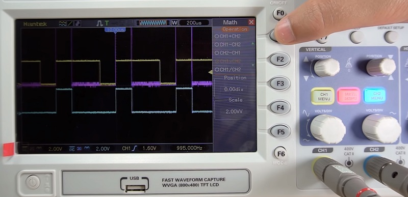 Hantek DSO5102P Digital Storage Oscilloscope 2 Channels 100MHz 1GSas