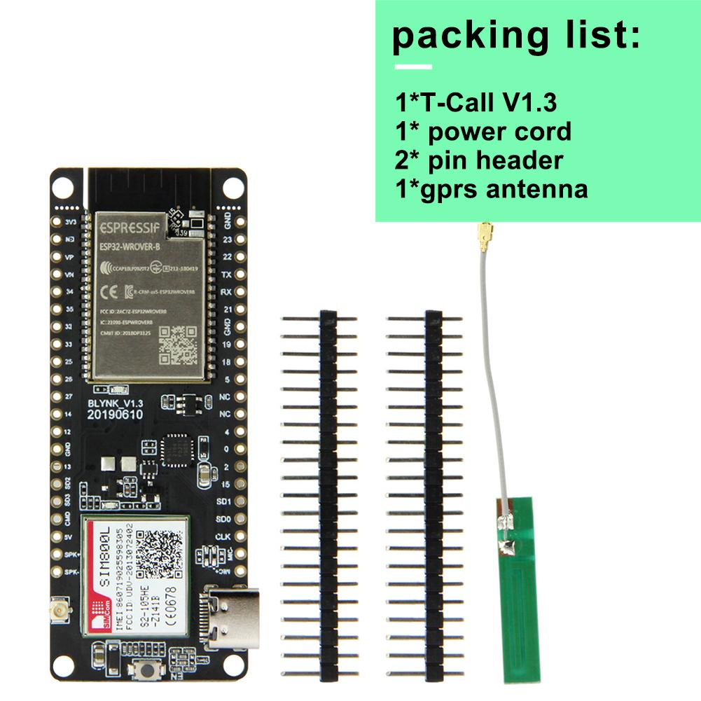$11 TTGO T-Call ESP32 with SIM800L GSM/GPRS - Maker Advisor
