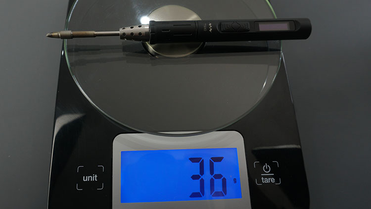 TS80 Soldering Iron Weight 36g