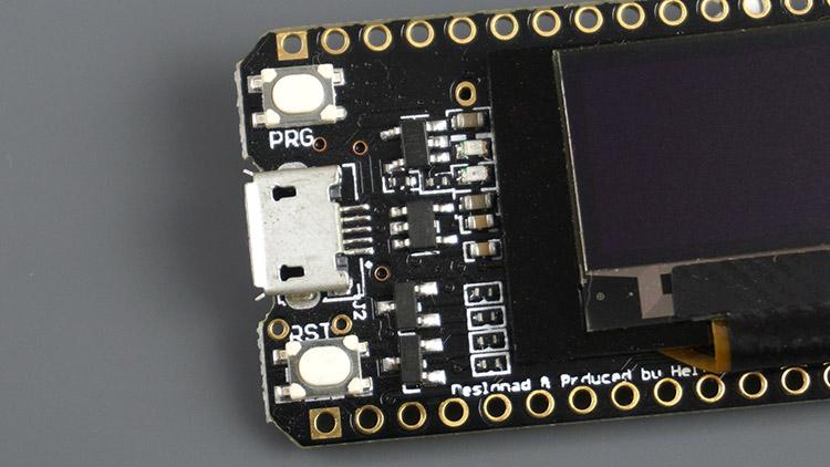 TTGO LoRa32 OLED Buttons