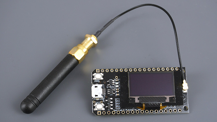 TTGO LoRa32 OLED with antenna
