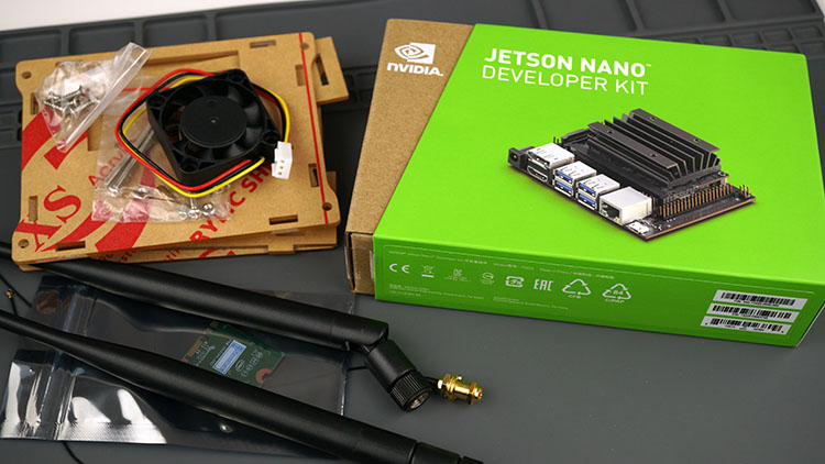 NVIDIA Jetson Nano Developer Kit for Artificial Intelligence (AI)