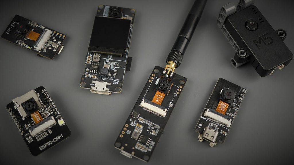 ESP32 Camera Dev Boards Review and Comparison - Best ESP32-CAM