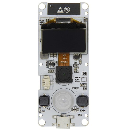 Banggood - TTGO T-Camera ESP32 WROVER with PSRAM Camera Module OV2640 Camera 0.96 Inch OLED