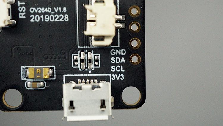 TTGO T-Journal ESP32 I2C Pins SDA SCL