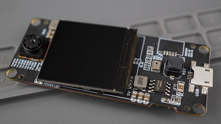 TTGO T-Camera Plus Board Overview