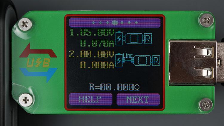 UM24 UM24C USB Tester input output