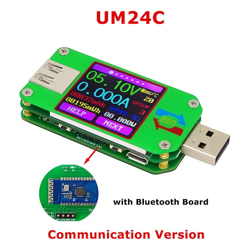 Banggood - UM24C USB Voltage Current Power Meter/Tester (with Bluetooth communication)