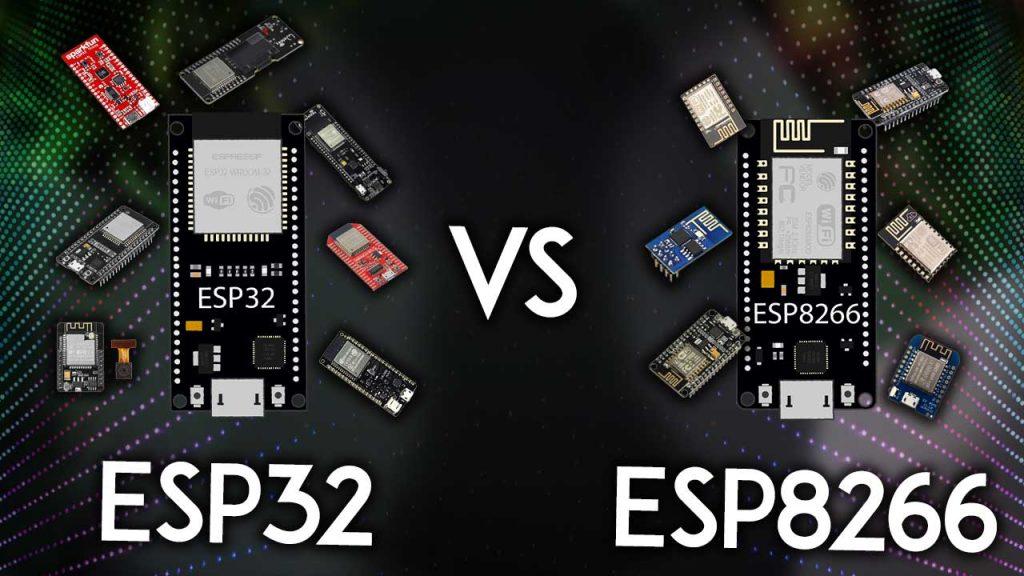 ESP32-vs-ESP8266