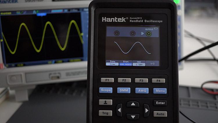 Hantek 3-in1 2D72 testing function generator