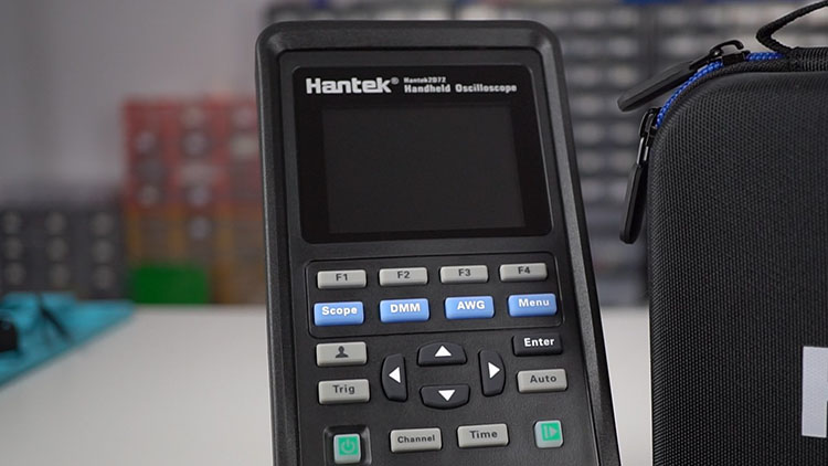 Hantek 3-in1 2D72 handheld oscilloscope
