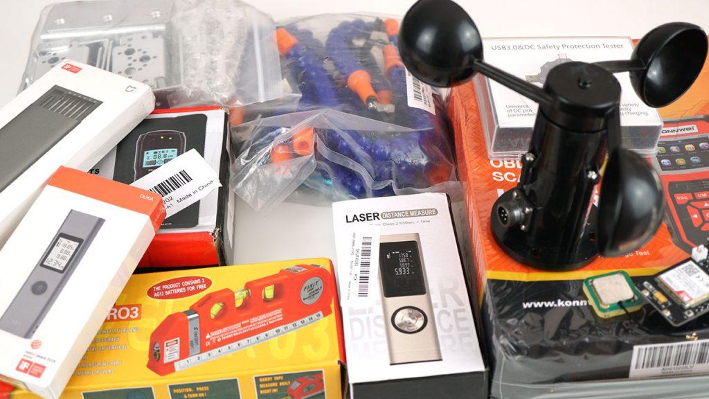 Unboxing: Multipurpose Tools, Wind Sensor, ESP32 Board, and More