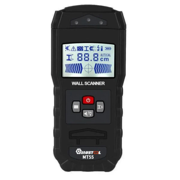 MUSTOOL MT55 Digital Wall Scanner Detector Detecting Wire Live Cable