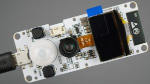 TTGO-T Camera ESP32 PSRAM Camera Module OV2640 OLED PIR Motion Sensor Board Review