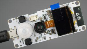 TTGO-T Camera ESP32 PSRAM Camera Module OV2640 OLED PIR Motion Sensor Board Review