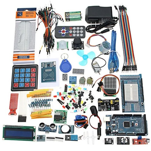 The Most Complete Ultimate Starter Kits For Arduino Mega2560