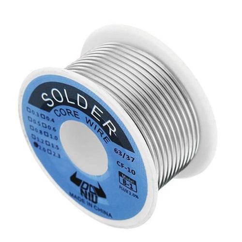 DANIU 100g 63/37 Tin Lead Rosin Core 0.5-2mm 2% Flux Reel Solder Wire