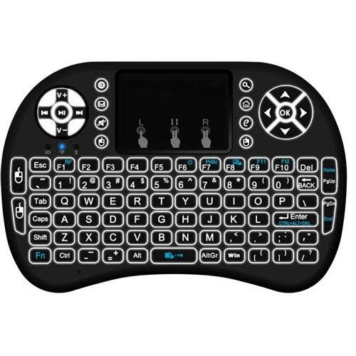 MINI I8 Wireless Backlit 2.4GHz Touchpad Keyboard