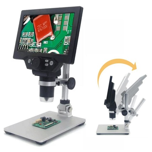 MUSTOOL G1200 Digital Microscope 12MP 7 Inch Color Screen 1200X
